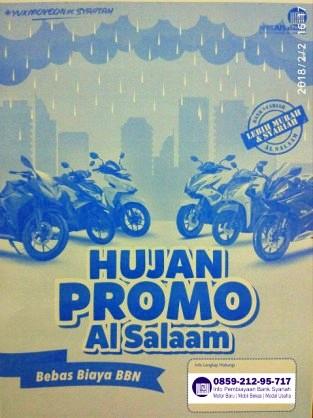 Price list Update Kredit Motor Syariah Bank Bprs Al Salaam bukan Assalam Februari 2018 Otr Jakarta Tangerang