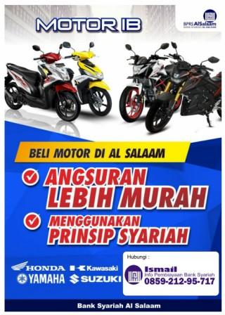 Kredit Motor Syariah Honda, Yamaha, Kawasaki dan Suzuki