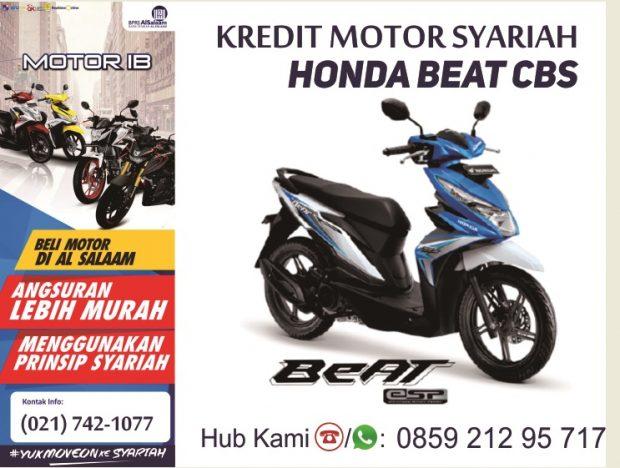 Kredit Syariah Motor Baru Honda Beat Juli 2018