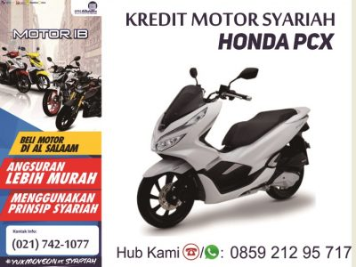 Kredit Syariah Motor Baru Honda PCX Juli 2018