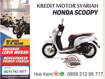 Kredit Syariah Motor Baru Honda Scoopy