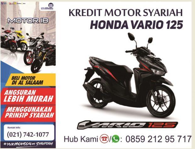 Kredit Motor Syariah Honda Vario 125 CBS ISS