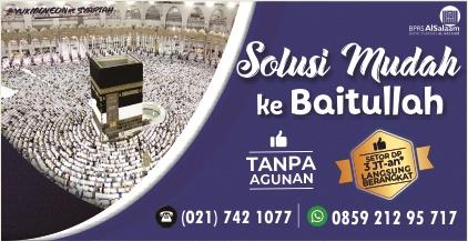 Pembiayaan Syariah BPRS AlSalaam Ibadah Umroh Tanpa Agunan