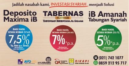 Produk Syariah Tabungan dan Deposito BPRS Al Salaam