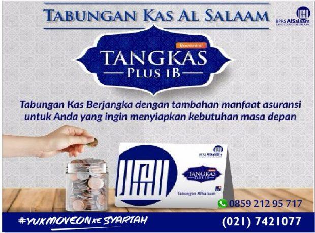 Tabungan Syariah Tangkas Plus Ib BPRS Al Salaam