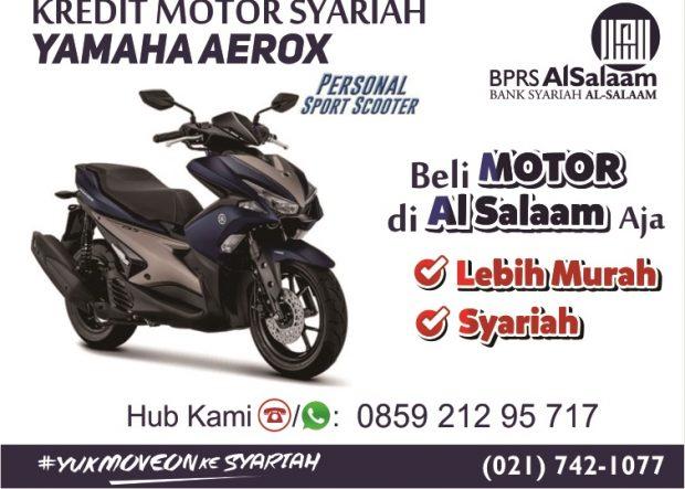 Kredit Motor Syariah Yamaha Aerox