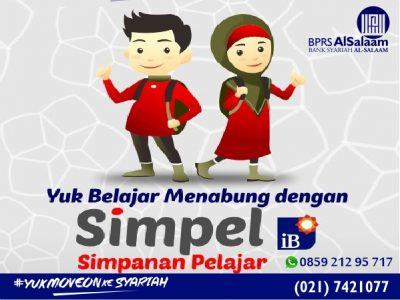 Tabungan Syariah Simpanan Pelajar (Simpel Ib) BPRS AlSalaam