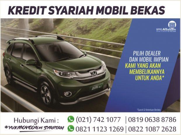 Simulasi Pembiayaan Syariah Mobil Bekas Update Agustus 2018