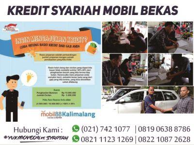 Mobil dari Mobil88 Kalimalang Pembiayaannya ke BPRS AlSalaam