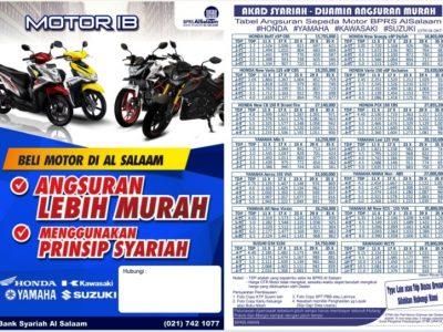Update Oktober 2018 Cicilan Kredit Motor Syariah Al Salaam