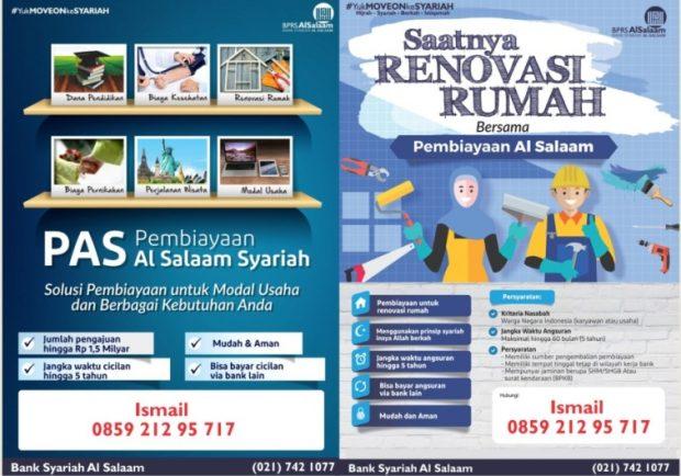Update Oktober 2018 Angsuran Pembiayaan or Pinjaman Syariah