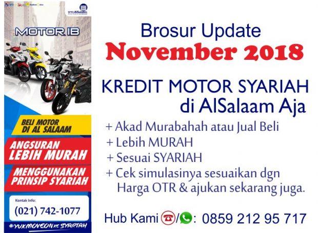 Brosur Update November 2018 Pembiayaan Kredit Motor Syariah