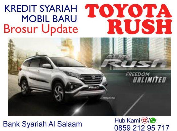 Pembiayaan Syariah Al Salaam Kredit Mobil Baru Toyota Rush