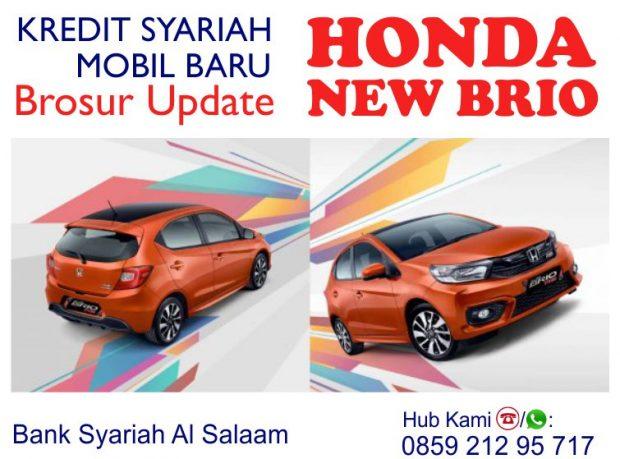 Kredit Mobil Syariah Honda Brio BPRS AlSalaam Bebas Riba