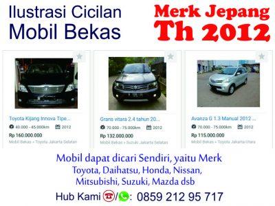 Price List Brosur AlSalam Kredit Syariah Mobil Bekas th 2012