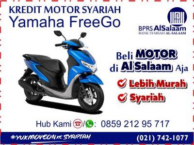 Update Angsuran Cicilan Kredit Motor Syariah Yamaha FreeGo