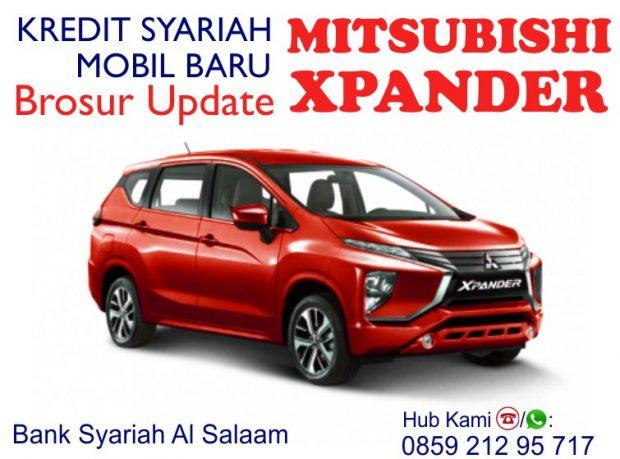 Kredit Mobil Syariah Mitsubishi Xpander Cicilan Tanpa Riba