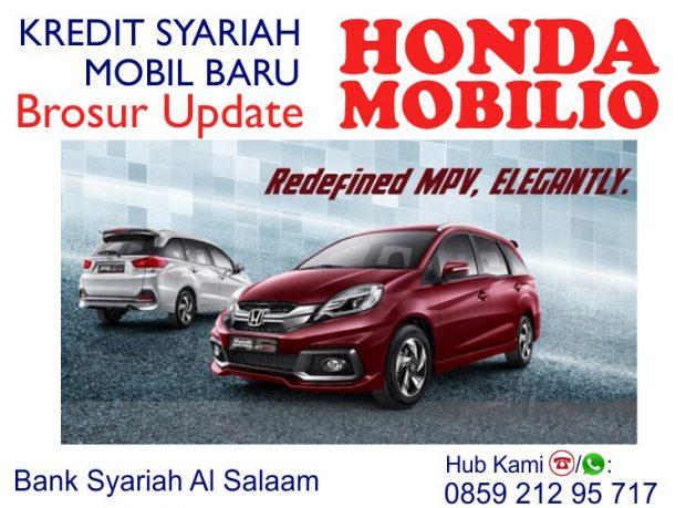Cicilan Kredit Syariah Mobil Baru Honda Mobilio Dp Promo