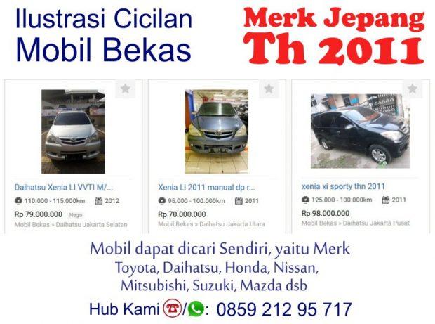 Simulasi Cicilan Kredit Syariah Mobil Bekas 2011 Tanpa Riba