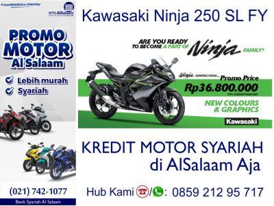 Desember 2018 Kredit Motor Syariah Kawasaki Ninja 250 SL FY
