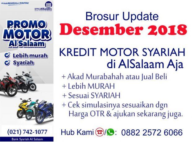Brosur Kredit Motor Syariah Update Desember 2018 Promo Yamaha