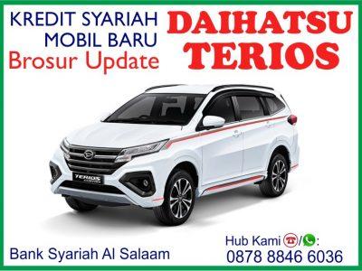 Brosur Update Kredit Syariah Mobil Baru Daihatsu New Terios