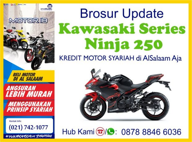 Brosur Update Pembiayaan Kredit Motor Syariah Kawasaki Ninja