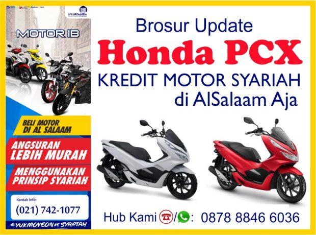 Brosur Update Pembiayaan Syariah Kredit Motor Honda PCX