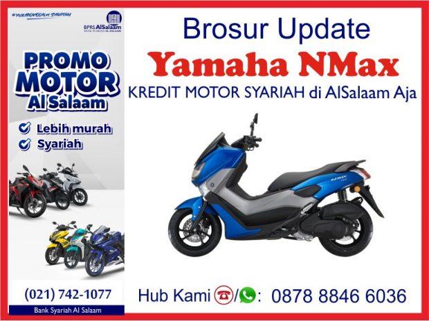 Pembiayaan BPRS Al Salaam Kredit Motor Syariah Yamaha NMax