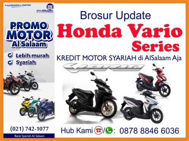 Update Brosur Honda Vario 110 125 150 Kredit Syariah Motor