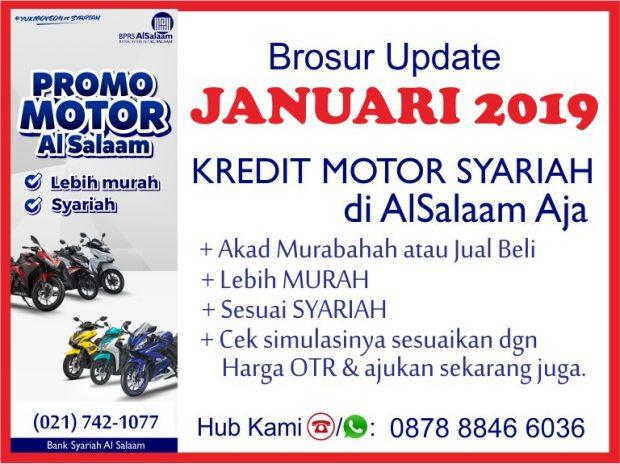 Brosur Update Januari 2019 Pembiayaan Kredit Syariah Motor