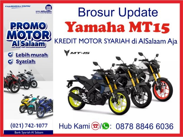 Pembiayaan Yamaha MT15 BPRS Al Salaam Kredit Motor Syariah