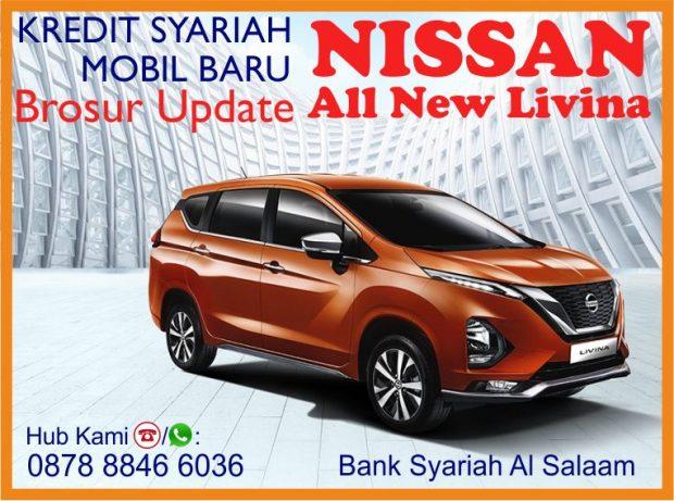 Brosur Kredit Mobil Syariah Baru Nissan All New Livina Grand