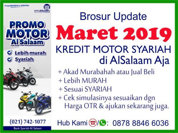 Update Brosur Maret 2019 Pembiayaan Kredit Syariah Motor