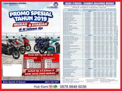 Update April 2019 Cicilan Kredit Motor Syariah Al Salaam