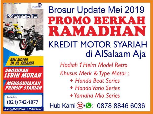 Promo Mei 2019 Berkah Ramahan Pembiayaan Motor Syariah