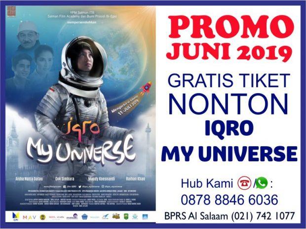 Promo AlSalaam Juni 2019 Gratis Nonton Film Iqro My Universe
