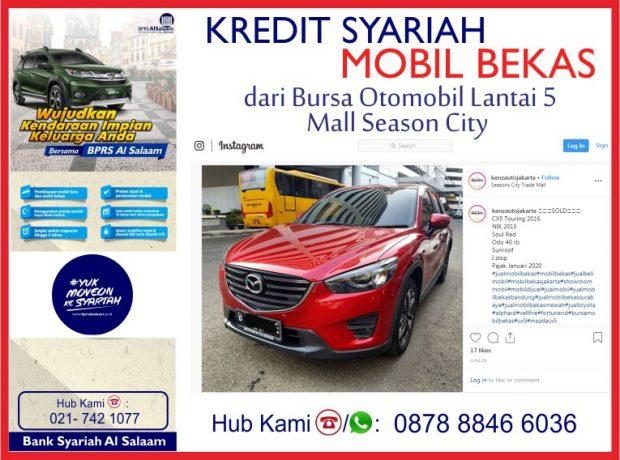 Akad Murabahah Pembiayaan Kredit Syariah Mobil Mazda CX5