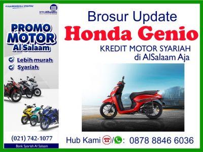 Honda Genio Pembiayaan Kredit Motor Syariah BPRS Al Salaam