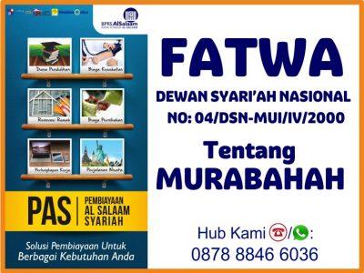 Pembiayaan Akad Murabahah di Bank Syariah BPRS Al Salaam
