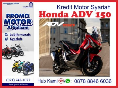 Honda ADV 150 Pembiayaan Kredit Motor Syariah BPRS Al Salaam