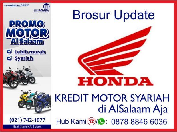 Brosur Update Kredit Motor Syariah All Honda BPRS AlSalaam