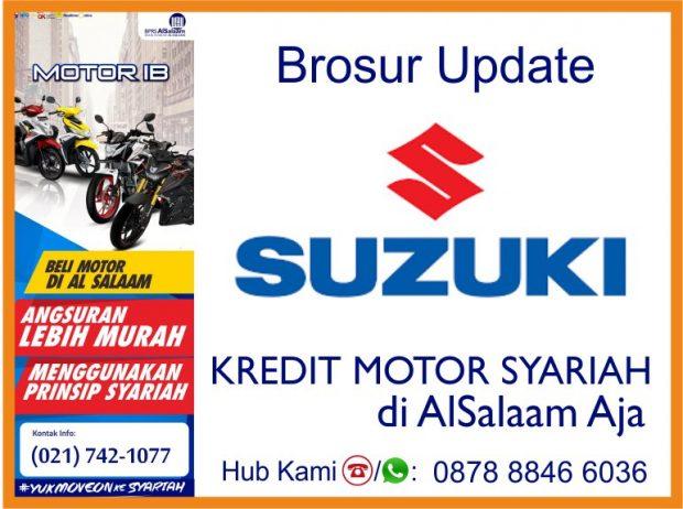 Update Brosur Pembiayaan Syariah Kredit Motor All Suzuki