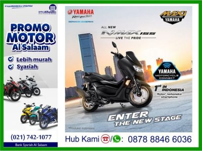 Desember 2019 Yamaha All New NMAX 155 Connected/ ABS Version