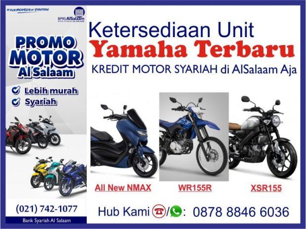 Kredit Motor Syariah Yamaha All New NMAX | XSR155 | WR155R