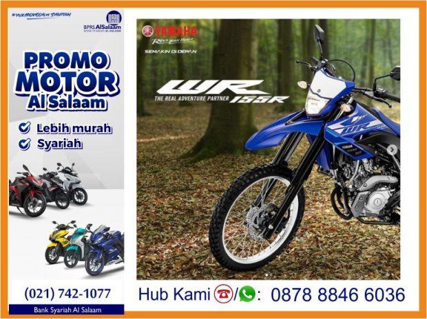 Motor Trail Yamaha WR 155R Kredit Syariah di BPRS Al Salaam