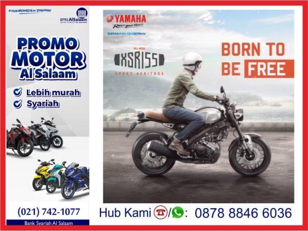 Yamaha XSR155 Motor Bergaya Tracker Sport Heritage Cafe Racer