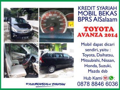 Kredit Syariah Mobil Bekas Toyota Avanza 2014 BPRS AlSalaam