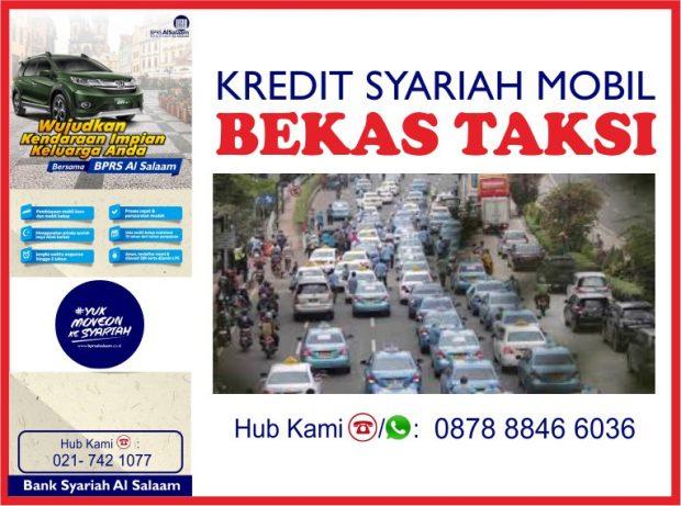 BPRS AlSalaam Kredit Syariah Mobil Bekas Taksi Bebas Riba