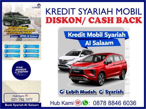 Milik Siapa Diskon Cashback Kredit Syariah Mobil Baru